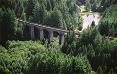 photo viaduc des Farges